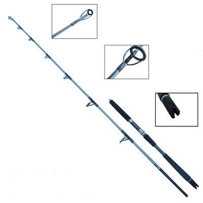 1.65m 1.8m High Carbon Jigging Rod 150-250g Boat Trolling Fishing Rod Big Game Rods Full Metal Reel Seat SIC Guides EVA Handle(China (Mainland))