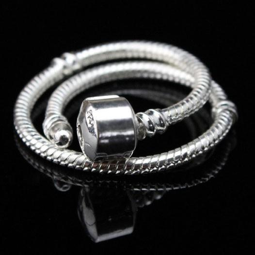 Браслет с брелоками Silver Charm 24 ! 925 3 Pandora Bracelet кольцо pandora 925 silverring charm