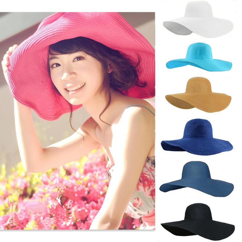 Женская шляпа от солнца Brand New 2015 sun hat женская фетровая шляпа brand new 2015 fedora cloche hat cap 6 bm890