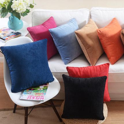 9 styles Candy Color Custom Cushion Cover Creative Rainbow Pillow Case Pillow Cover sofa car wedding decoration(China (Mainland))