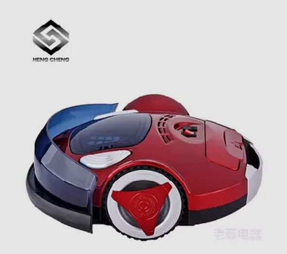 Free shipDHL 99$ Robot Vacuum Cleaner, Two Side Brushes,LED Touch Screen.with Tone,HEPA Filter,Schedule,Virtual Wall,Self Charge(China (Mainland))