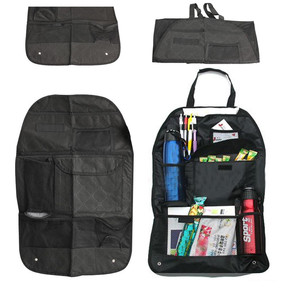 1pcs Free Shipping Novel Holder Organizer Car Auto Pocket Storage Bag Vehicle Seat Back Hanger Whloesale CLSK(China (Mainland))