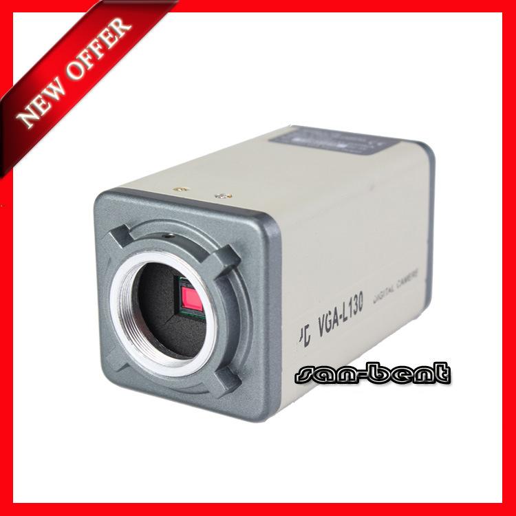 L130 CCD Microscope Camera 960Line VGA Interfaces 1.3Megapixel Resolution 1280*1024 48*60*100mm 400mA 2W Free Shipping&Wholesale(China (Mainland))