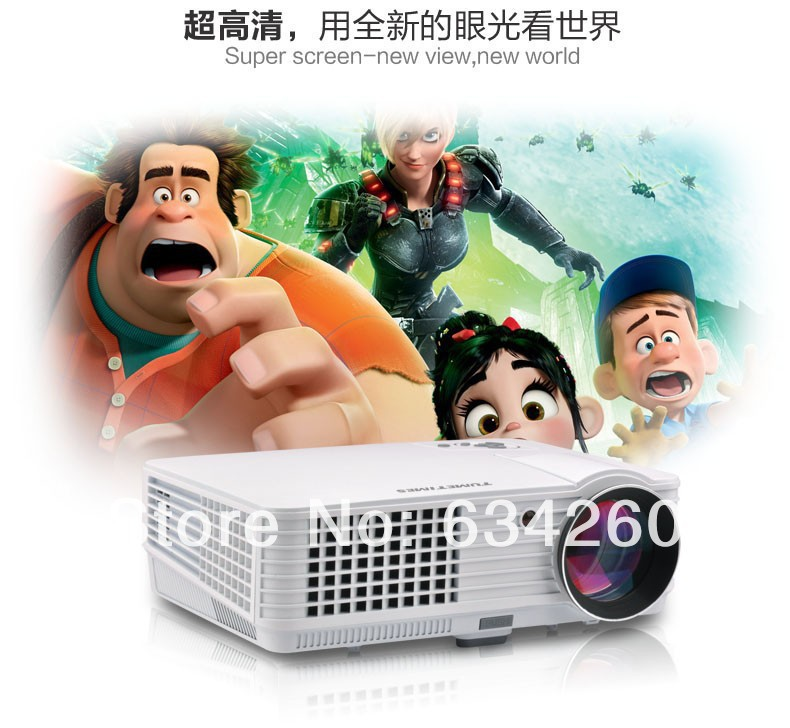 original TMT K09 4500 Lumens External android 1080P 3D projector home vedio projector china hot sale projector TMT-K09(China (Mainland))