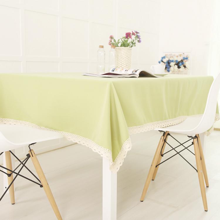 Livraison Gratuite Ikea Simple P Te De Haricots Verts Plaine Couleur Unie Nappe Haut De Gamme
