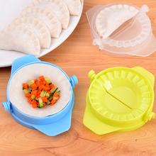 Kitchen Magic Creative Manual Pack Dumpling Machine Food-grade Plastic Pinch Home Pack Dumpling Color Random HG-1719(China (Mainland))