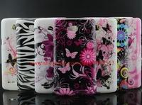 Leopard Zebra Butterfly Flower Design Soft Case Cover For LG L80 Dual D380 D385