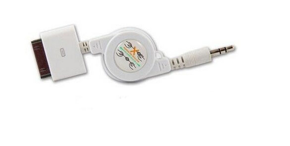 3.5mm Audio Cable Car Stereo Connector Aux For iPod I(China (Mainland))