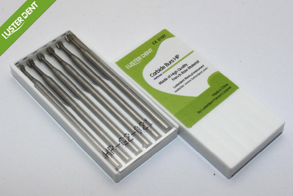 Carbide burs HP 6pcs G2-021 inverted cone tungsten dental carbide burs(China (Mainland))