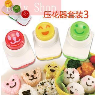 3 pcs/set Bentos sushi tools material purse rice cake mould cooking tools sushi set bento rolls maker gadget roll nori(China (Mainland))