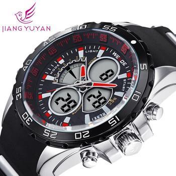 2015 последние WEIDE марка аналоговых наручные мужчины спортивные часы япония кварцевый механизм часы гарантия 1 год