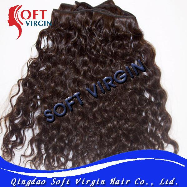 Baby curl hair natural black brazilian hair weave(China (Mainland))