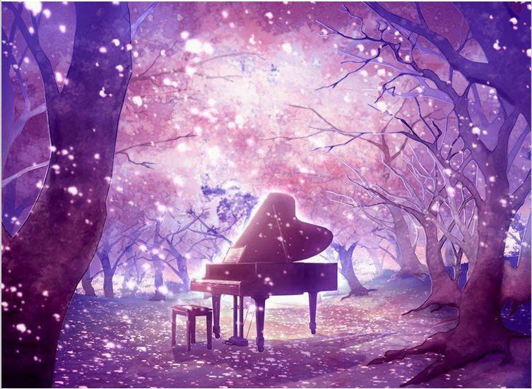 Free Shipping 2015 DIY 3D Diamond Painting Mysterious Purple Forest Piano Square Full Diamond Hand Embroidery Cross Stitch B115(China (Mainland))