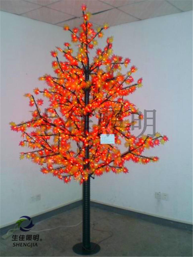 good and popular led maple leaf trees shengjia(China (Mainland))