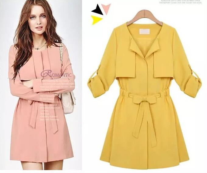 Женская одежда из шерсти Autumn Blazer OL Windbreaker