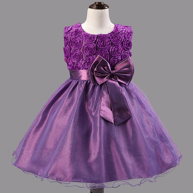 Girl dresses wedding dress girls summer spring dresses children child