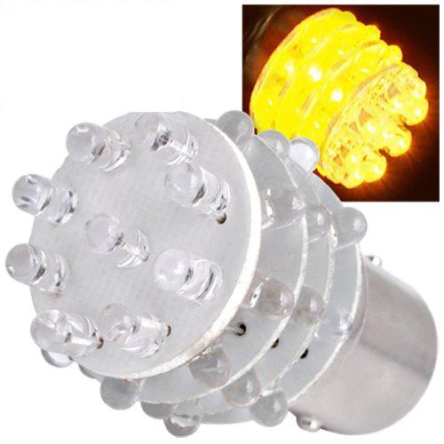 COFA,2X Lampe Ampoule 36 LED Ambre 2 Contact pr AUTO VOITURE(China (Mainland))