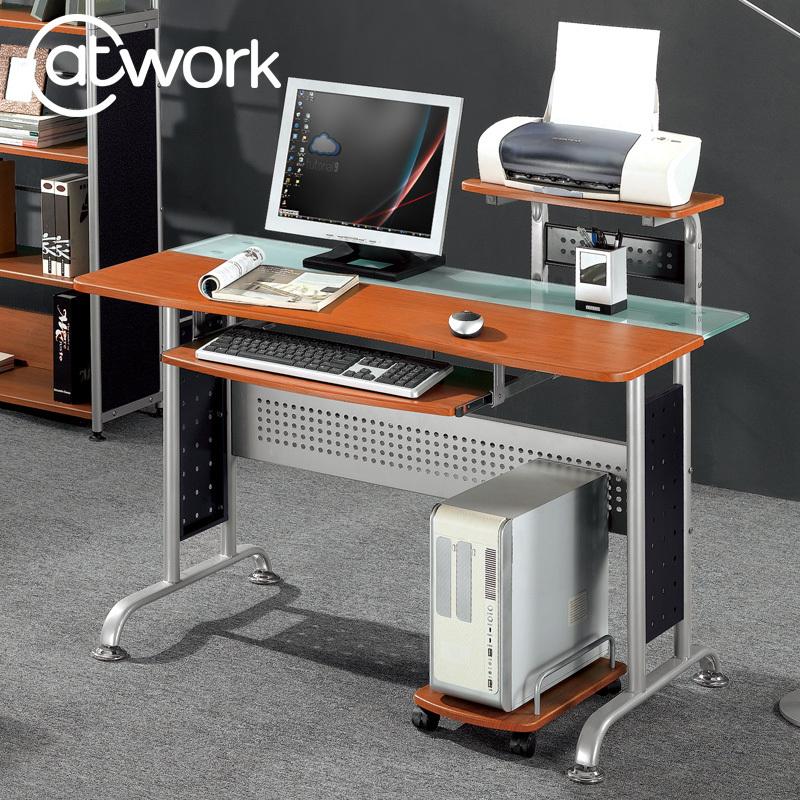 Actel house minimalist modern garden glass office desk home desktop computer desk corner shipping(China (Mainland))