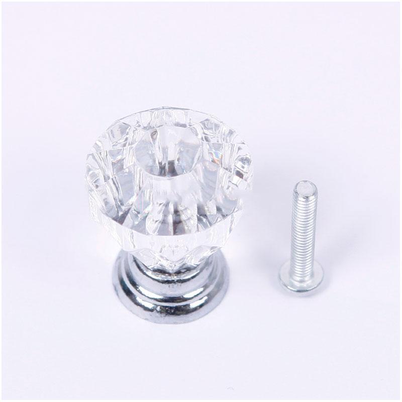 DigitalMart Five stars 25mm Crystal Knobs Door Handle Pull Cabinet Drawer Dresser Cupboard Wardrobe Cheap!!(China (Mainland))