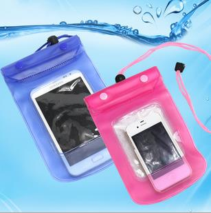 Mobile Phone Waterproof Bag Case Cover Underwater Touch Water proof Mobile Phone Accessories for BlackBerry 9380 Curve(China (Mainland))