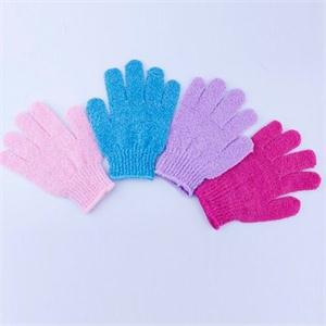 Hot 2015 New Arrival Moisturizing Spa Bathwater Scrubbing Bath Exfoliating Gloves For showering(China (Mainland))