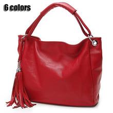 Femmes sacs à main en cuir gland sac grands sacs en cuir véritable pu femmes sacs à bandoulière femmes sac à main noir fourre - tout