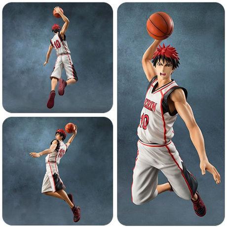 Anime Kuroko's Basketball Kuroko no Basuke Taiga Kagami Basketball PVC Action Figure Model Toy Gift 28cm Free shipping(China (Mainland))