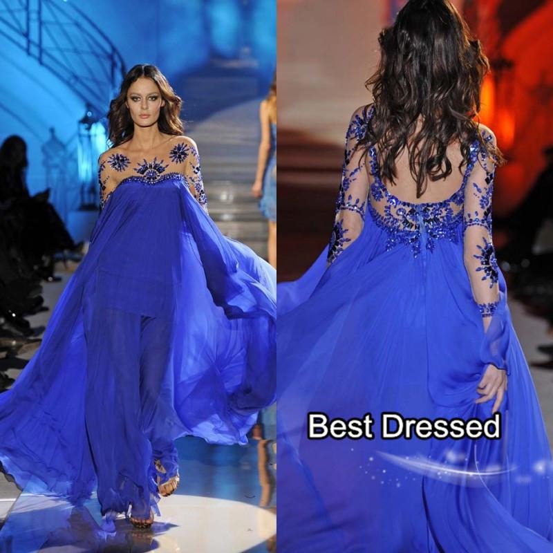 Вечернее платье Perfect Girl royal blue /Line AP-150505-04