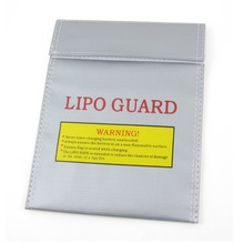 IMC Hot Battery Safety Bag Fireproof LiPo Silver 23cm x 19cm
