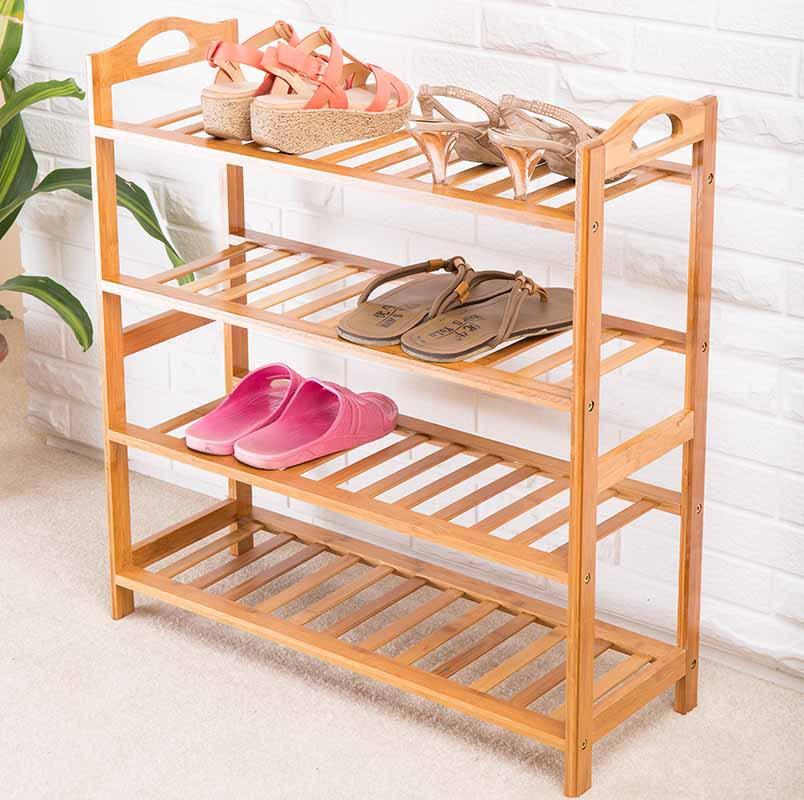 ... wood-IKEA-shoe-rack-shoe-rack-multilayer-high-dust-simple-shoe-rack