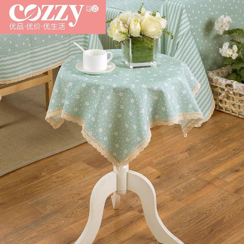Cozzylife Kou Zi linen tablecloths pastoral lace tablecloths linen table cloth tablecloth tea table cloth Orchids(China (Mainland))