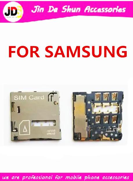 50PCS/LOT For Samsung Galaxy S4 i9500 i9505 i9508 i9502 i959 i337 i545 l720 r970 Sim Card Reader Holder Slot Tray Free Shipping