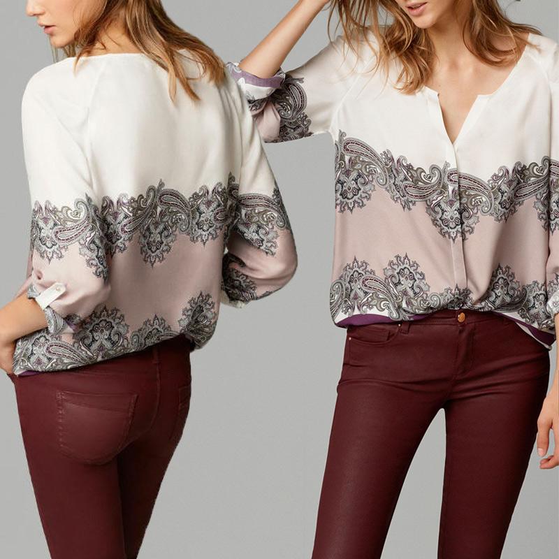 Женские блузки и Рубашки Camisas femininas Blusas Femininas 2015 OL женские блузки и рубашки cool fashion 16 s xxxl t blusas femininas tc0099