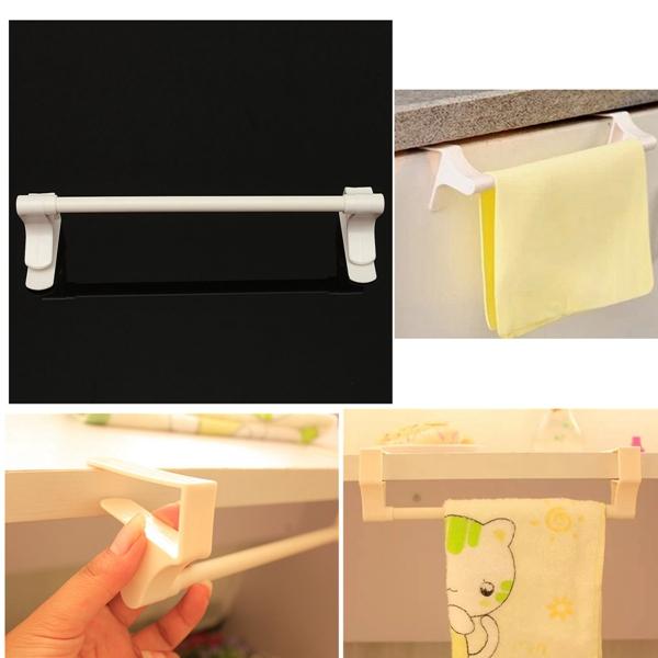 Wholesale Useable Hot Sales Durable Plastic Kitchen Bathroom Clip Towels Rag Clothes Towel Racks Shelf Storage Hooks Hanger(China (Mainland))