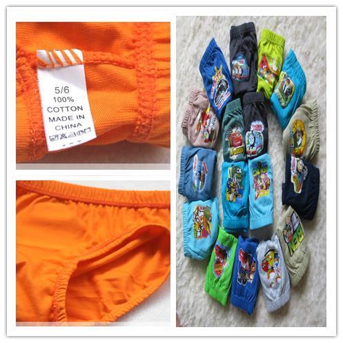 Нижнее белье для мальчиков cartoonUnderewears 12pcs/lot, baby boy 2/12 AL-1011#