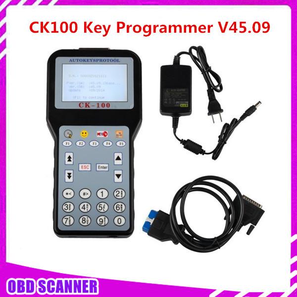 2015 New Arrival The Latest Generation CK100 Auto Keys Pro Tool CK100 Auto Key Programmer CK-100 V45.09 Silca SBB Free shipping(China (Mainland))