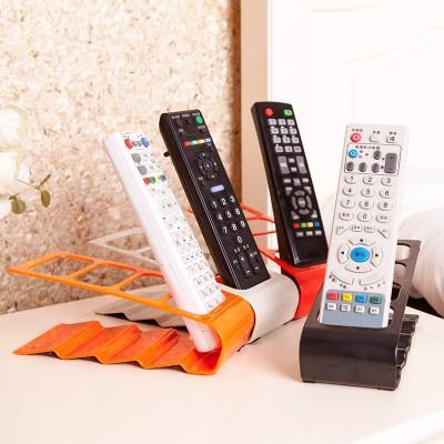 Creative remote storage rack four grid storage box mobile phone receptacle 18.5*7*6.5cm free shipping(China (Mainland))