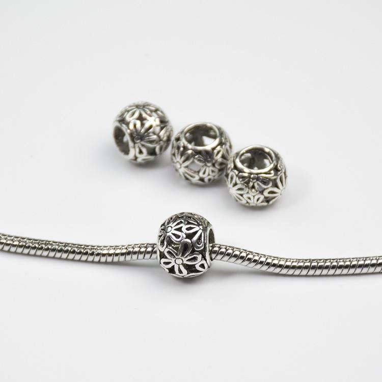 Гаджет  Free Shipping Daisies Murano Flower Heart  European  Beads Diy Bead Charms Fit Pandora Bracelets & Bangles B00005 None Ювелирные изделия и часы