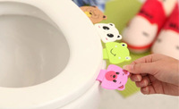 Cheapest Free Shipping Convenient Toilet Clamshell Tool Toilet Seat Cover / Potty Ring Handles Home Essential