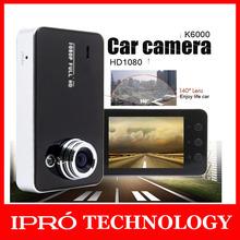 2015 камера Нью-K6000 камера автомобиля Автомобильный видеорегистратор Full HD 1080P автомобиля камера ночного видения СИД видеорегистратор автомобилей рекордер Бесплатная доставка