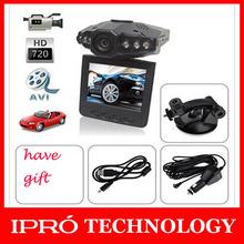 2015  Brand 2.5 inch HD LCD 6 IR LED HD198 720P HD Night Vision Mini Auto Car DVR Camera Video Recorder Vehicle Free Shipping(China (Mainland))