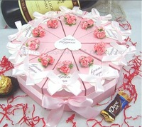 Free shipping--Wholse candy box like the cake