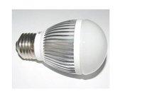 E27 high power led bulb;3*1W;230-300LM;2700-3300K;size:49mm*99mmc;warm white
