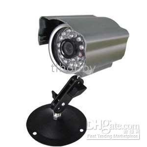 1/4'' Sharp CCD 24 IR LED Weatherproof and Dustproof Camera S-3002F2