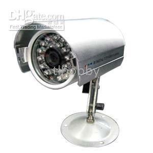 Color Camera S-1002I 1/4'' Sharp CCD 24 IR LED Weatherproof and Dustproof(China (Mainland))