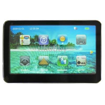 ,4GB Flash Capacity 5.0 inch TFT Touch-screen Car GPS Navigator Support TF Card, Built-in speaker(China (Mainland))