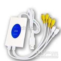 4 Video+2 Audio Channel USB 2.0 Digital Video Recorder Support Win98SE/2000/XP/Vista