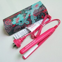 Travel hair iron/hair mini iron/hair plywood/mini hair straightener/easy fashion beauty hair flat tools/portable hair  iron