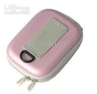 Carrying Bag Pouch - 10pcs Universal Hard Case for Slim Digital Camera---Pink