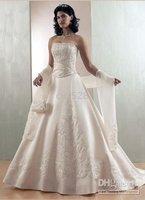 New style Sexy white Bride Wedding Dresses Strapless Wedding Dresses Spaghetti Wedding Dresses